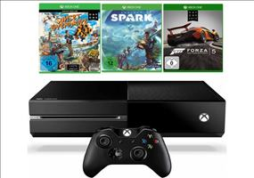 Xbox One + Sunset Overdrive+Project Spark+Forza 5 für 399€