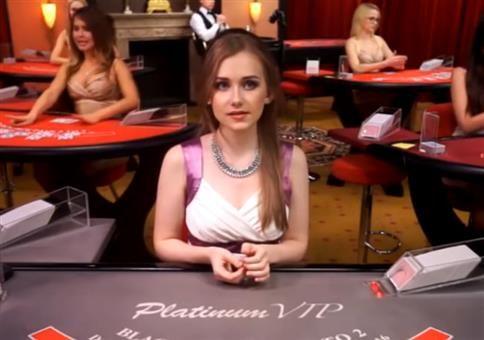 Peter Ness spielt Blackjack