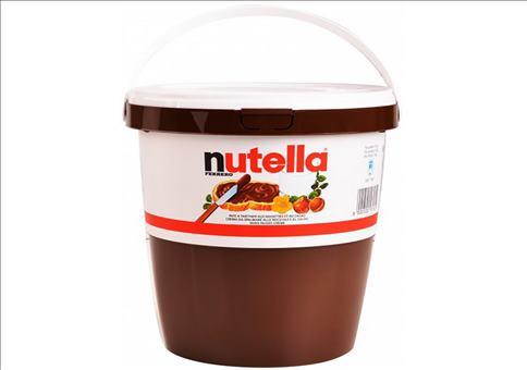 Ein Eimer Nutella