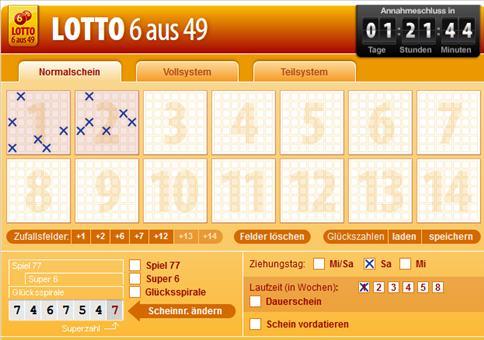 Genial: GRATIS Lotto!