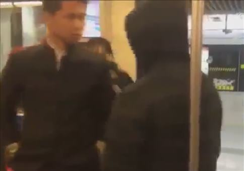 Selbstverteidigung in der U-Bahn