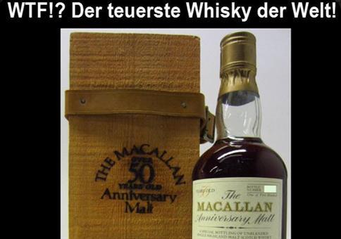 Der teuerste Whisky der Welt