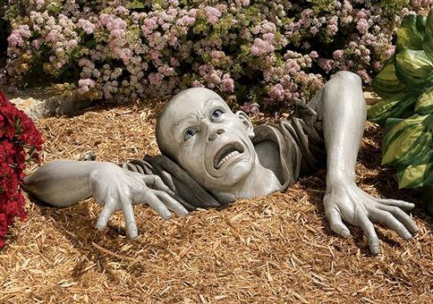 Der Zombie für den Vorgarten