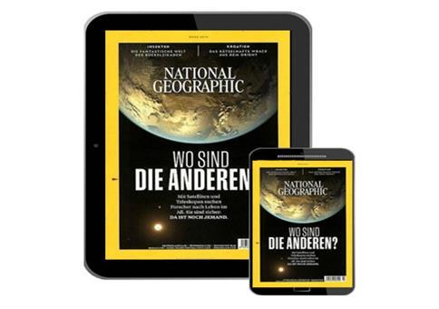 6 Ausgaben National Geographic als E-Paper komplett kostenlos
