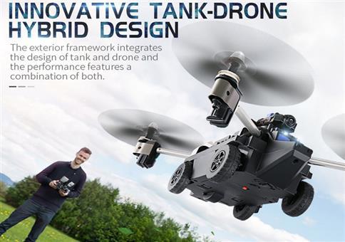 Hybrid Panzer-Drohne