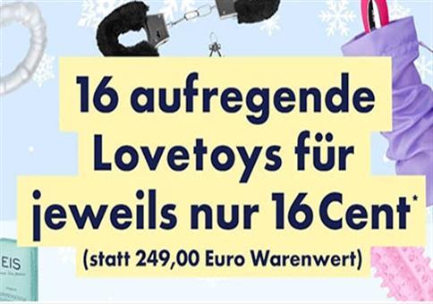 eis.de: 16 Toys für 2,56€ statt 249,00€