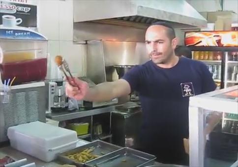 Der Meister der Falafel