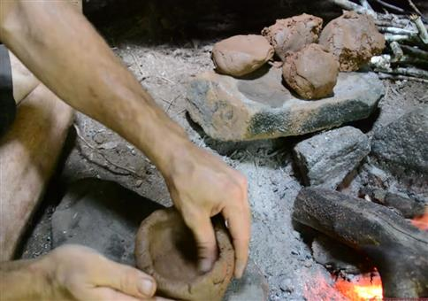 Primitive Technology: Keramik und Herd