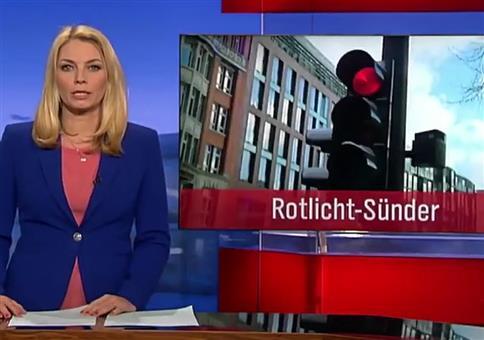 Normaler Hamburger Stadtverkehr