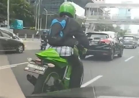 Manueller Ninja-Rider