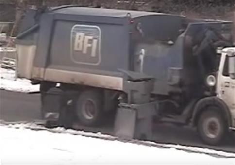 Der Kampf mit der Mülltonne