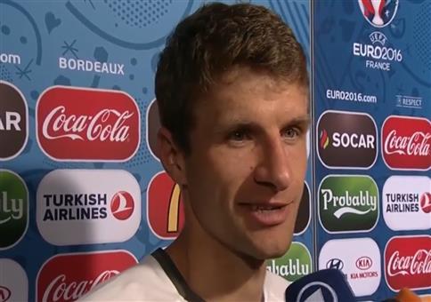 Thomas Müller: Ziel war immer im Halbfinale auszuscheiden