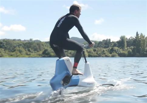 Manta5 Hydrofoil Bike Prototype