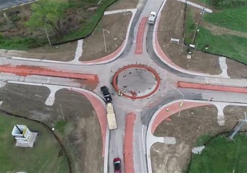 Kreisverkehr in den USA