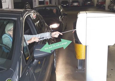Kartenlady - Die perfekte Hilfe am Parkautomaten