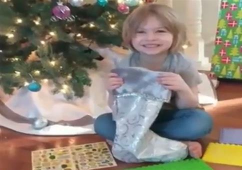 Neulich in den USA: Ein Überraschungsei zu Weihnachten