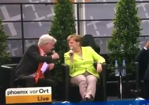 Merkel, die schlagfertige Muddi