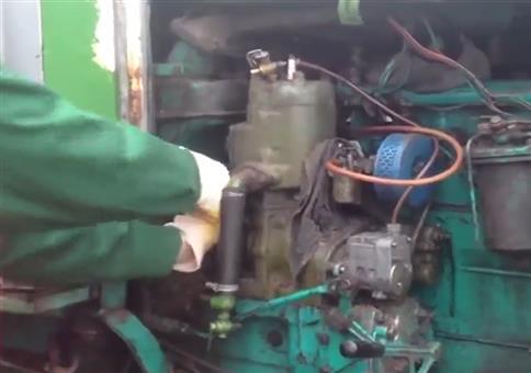 Mal den Motor anschmeißen