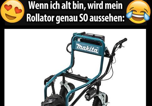 Hornis neuer Rollator!