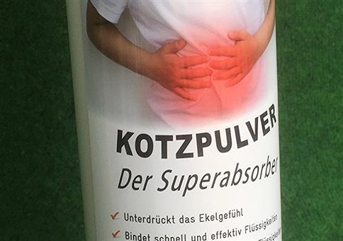 "Kotzpulver ""Der Superabsorber"""
