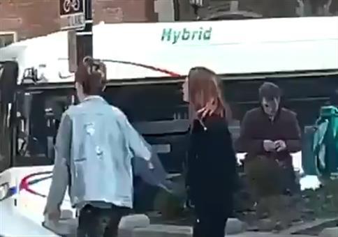 Liebesdrama auf offener Straße
