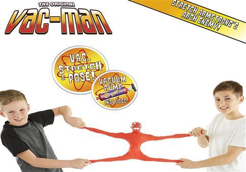 Krass stretchen mit Vac-Man