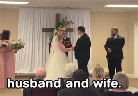 Wenn der Hochzeitsfilmer zu viel an den Knöpfen rumspielt