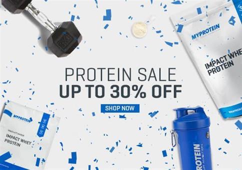 MyProtein: 30% Extra-Rabatt auf ALLES