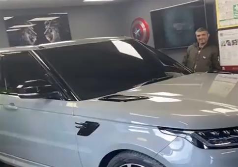 Auto im Büro
