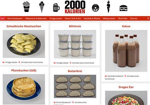 2000 Kalorien