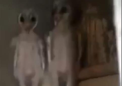 Aliens auf dem Dachboden?