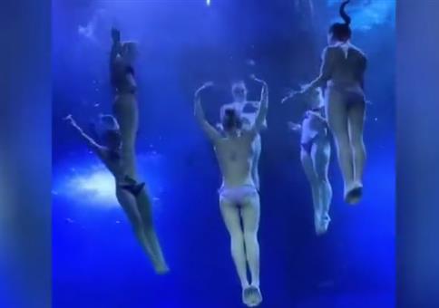 Ein menschlicher Seestern