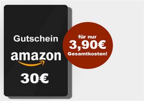 Knaller: 30€ geschenkt für 3,90€ Einsatz!