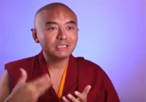 Meditation für den Affen im Kopf