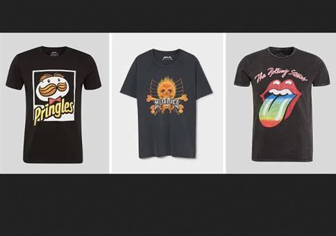 Motto-T-Shirt Sale bei C&A