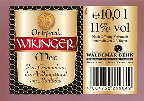 10 Liter Original Wikinger Met