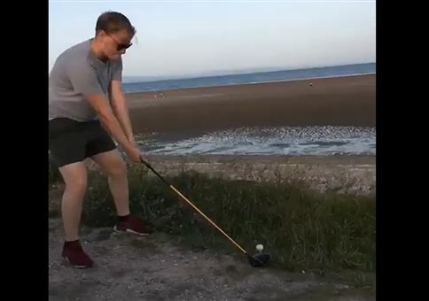 Golf am Meer spielen