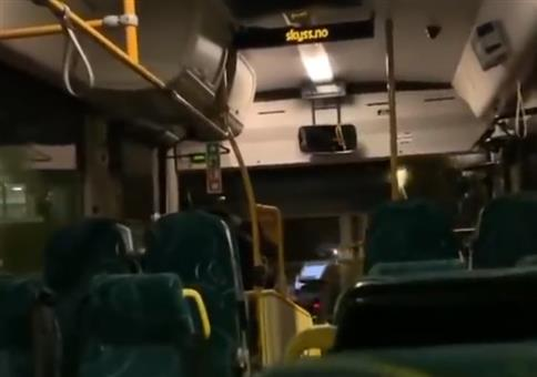 Wenn der Busfahrer denkt, der Bus sei leer