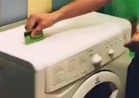 Ähm... ich wollte nur eben schnell Wäsche waschen