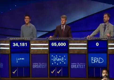 Wenn bei Jeopardy der Score genullt wird