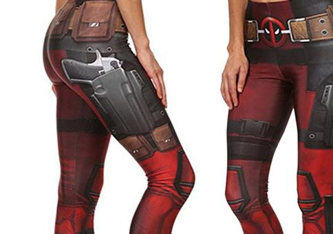 Sexy Deadpool Leggings