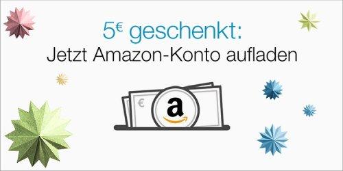 Amazon schenkt dir 5 Euro!